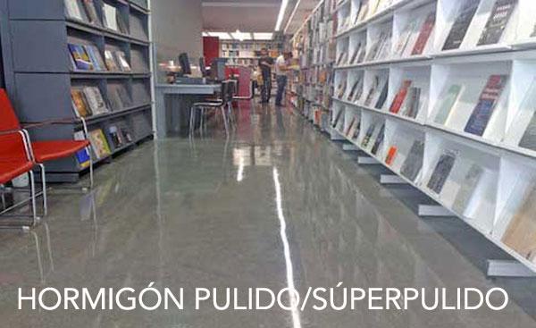 Hormigón PULIDO / SÚPER P.